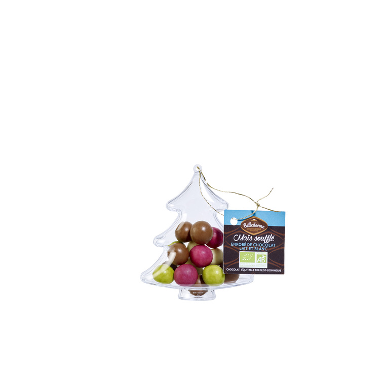 Sapin à suspendre avec chocolats – 45 gr