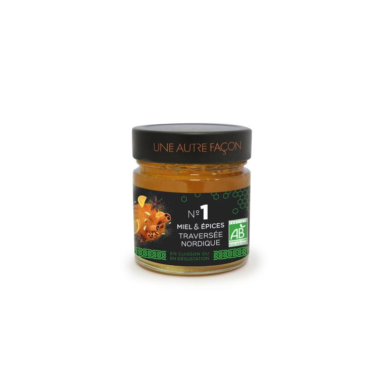 Miel et épices Traversée Nordique n° 1 - 270 gr