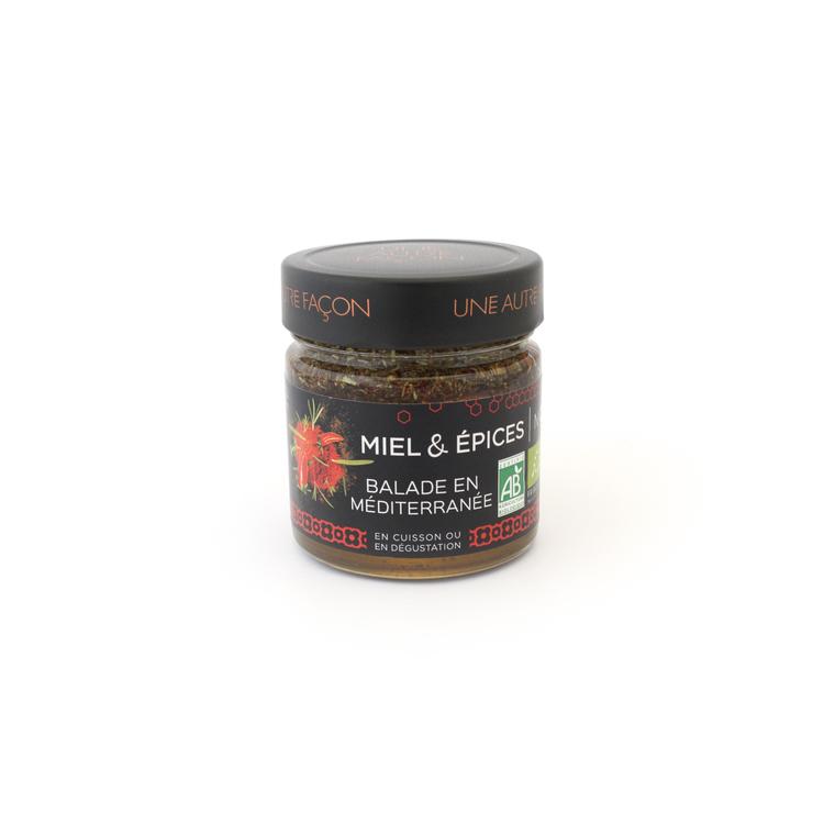 Miel et épices balade en méditerranée n° 2 en pot de 270 g 258649