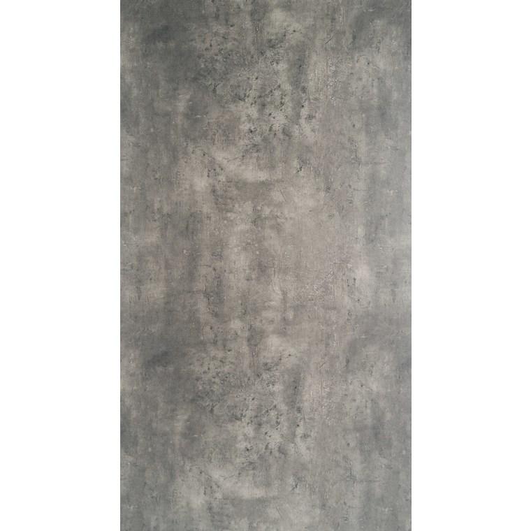 Plateau fin HPL gris ciment de 90 x 90 x 1,3 cm 259091