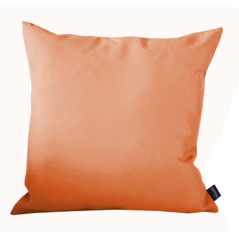 Coussin polyester orange 40x40 cm 259749