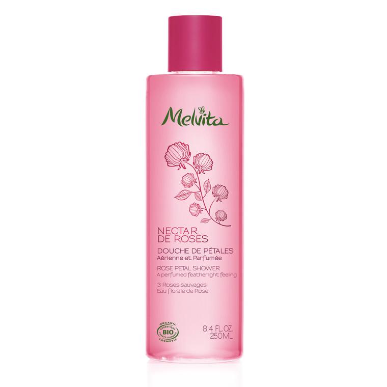 Douche de pétales de rose Melvita 250 ml 260383