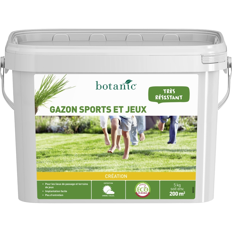 Gazon Sports et Jeux Label Éco-durable 5 kg 260763