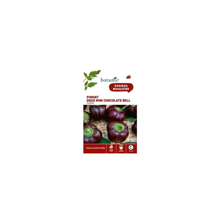 Poivron mini chocolate bell Insolite x2 sachets 261287