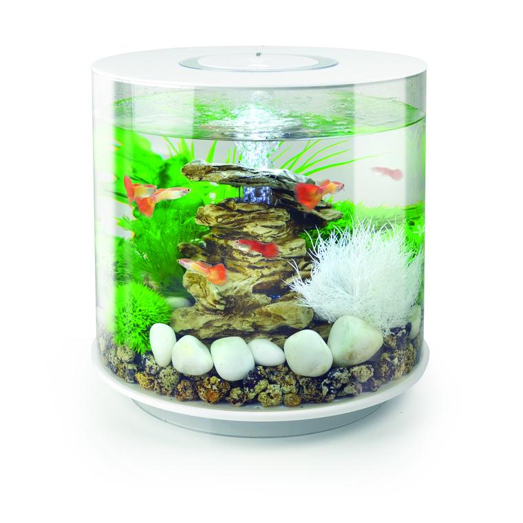 Aquarium biOrb 15L TUBE LED Blanc