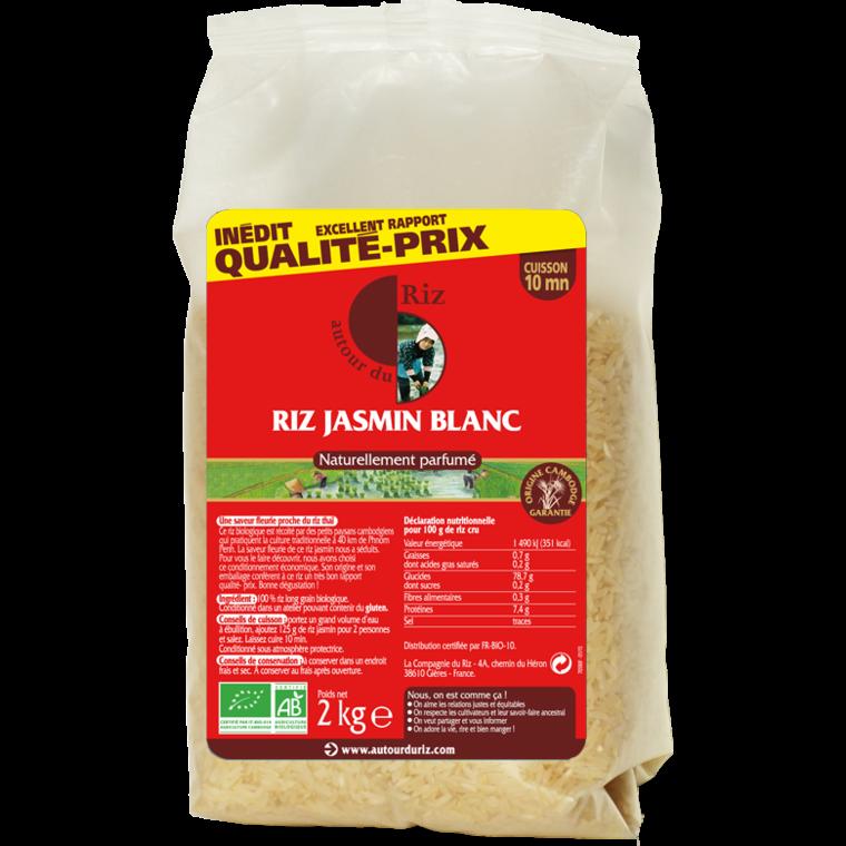 Riz blanc au Jasmin du Cambodge - 2 kg 262587