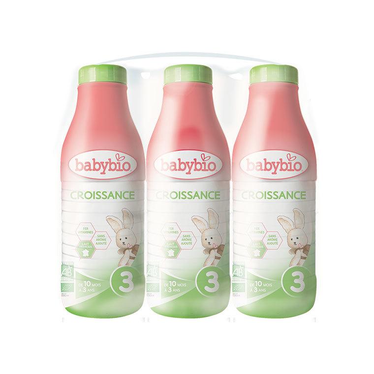 Lait croissance liquide Babybio 1 L 263249