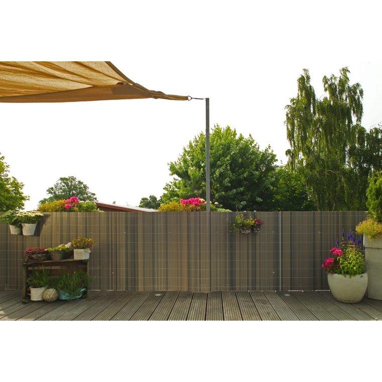 Brise-vue Rugen en PVC  gris mélèze 90 x 300 cm 263331