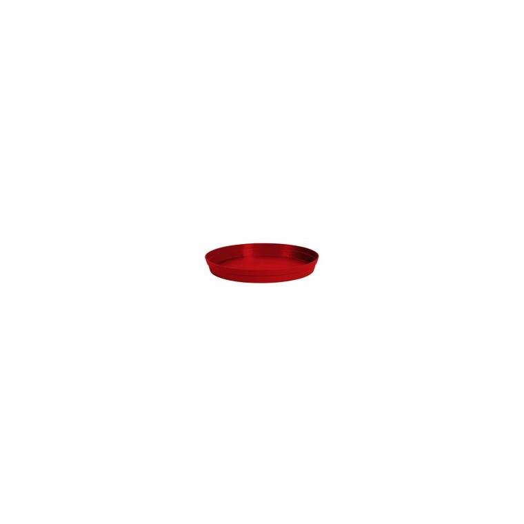 Soucoupe Toscane Rouge rubis D.54 x H7,5 cm 263692