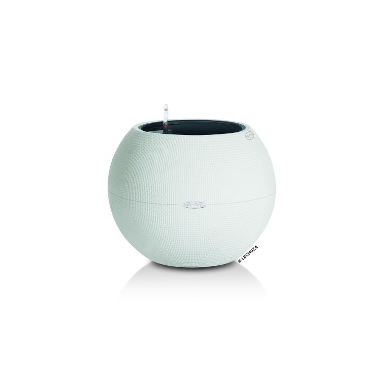 Pot rond PURO Color blanc - 50x39 cm 263905