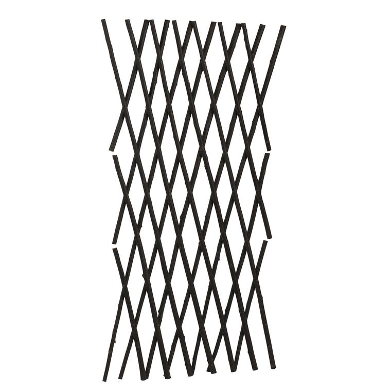 Treillis extensible en osier épais 120x180 cm 263943