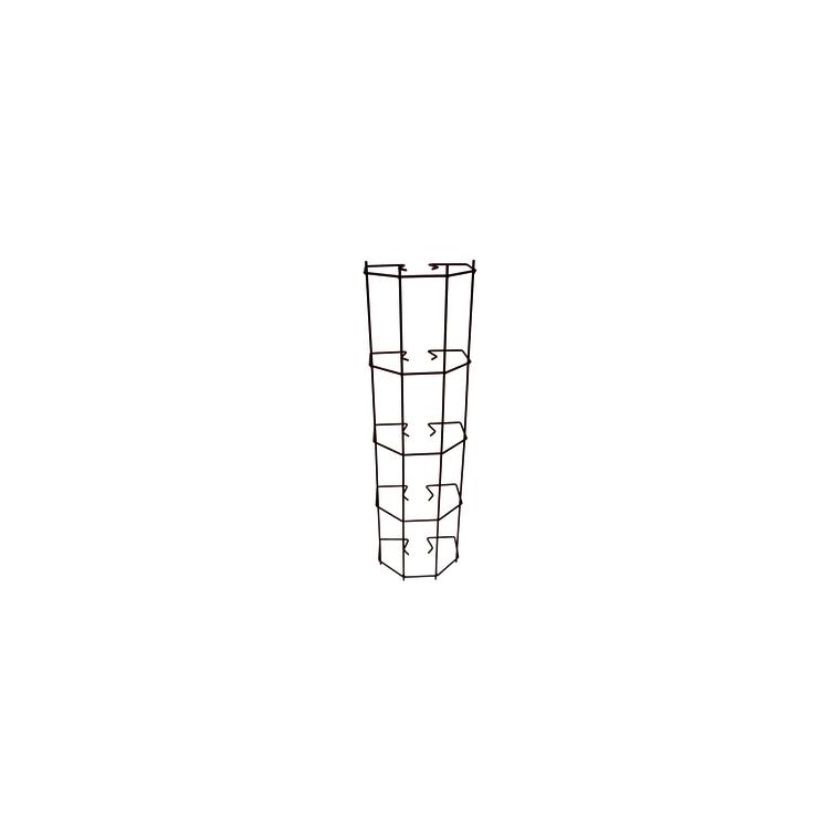 Cache gouttière clipsable en fer vieilli 263965