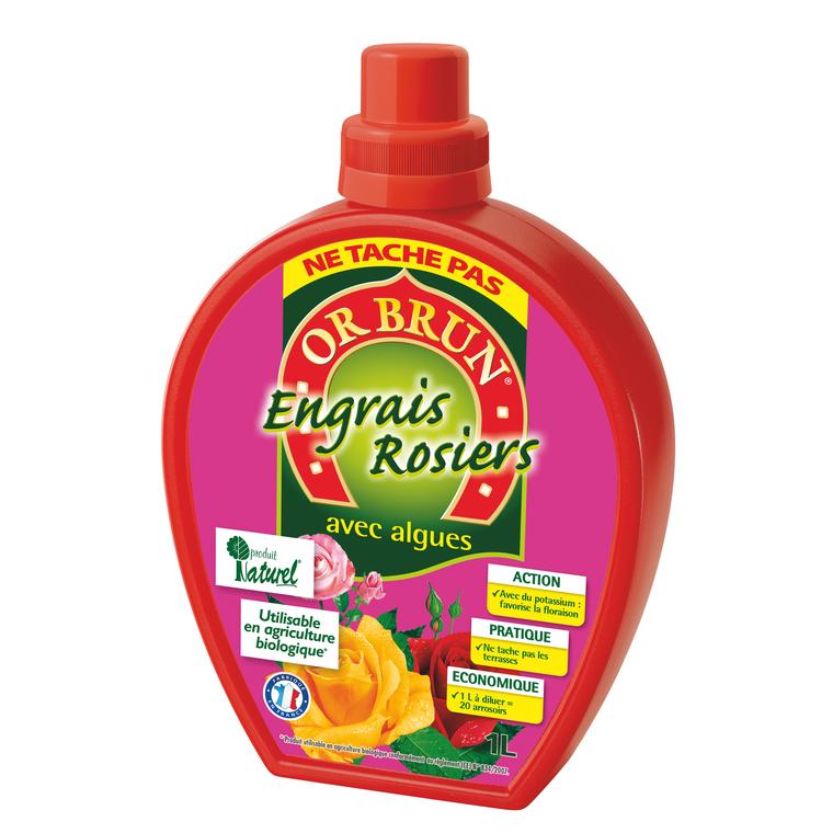Engrais liquide rosiers 1 L