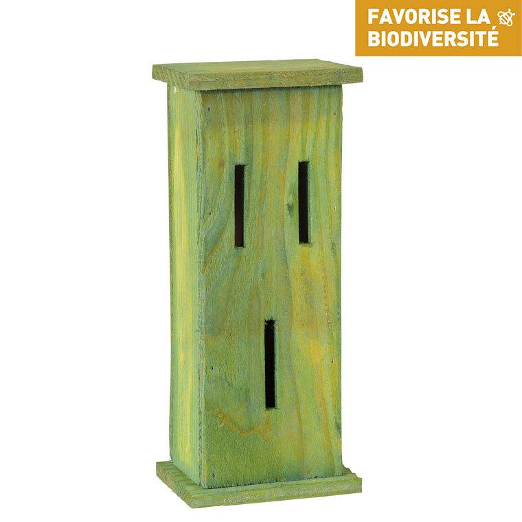 Abri à papillons en bois coloris vert 264366