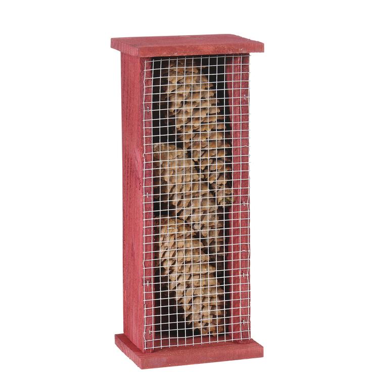 Abri pour chrysopes en bois coloris rouge 264369