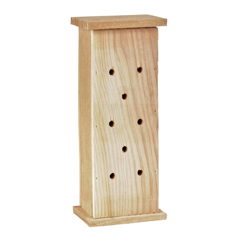 Abri à coccinelles en bois coloris naturel 264376