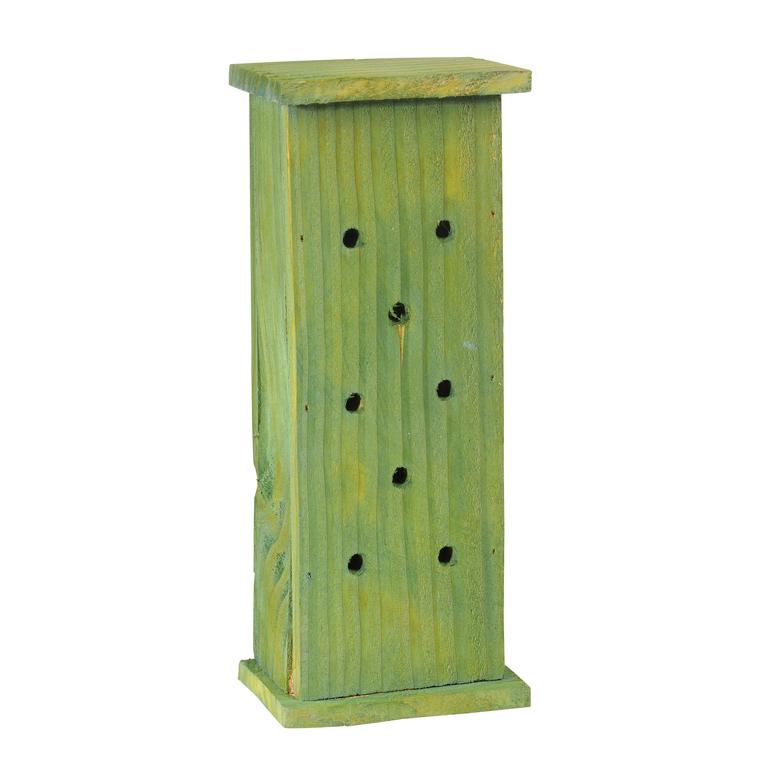 Abri à coccinelles en bois coloris vert 264378