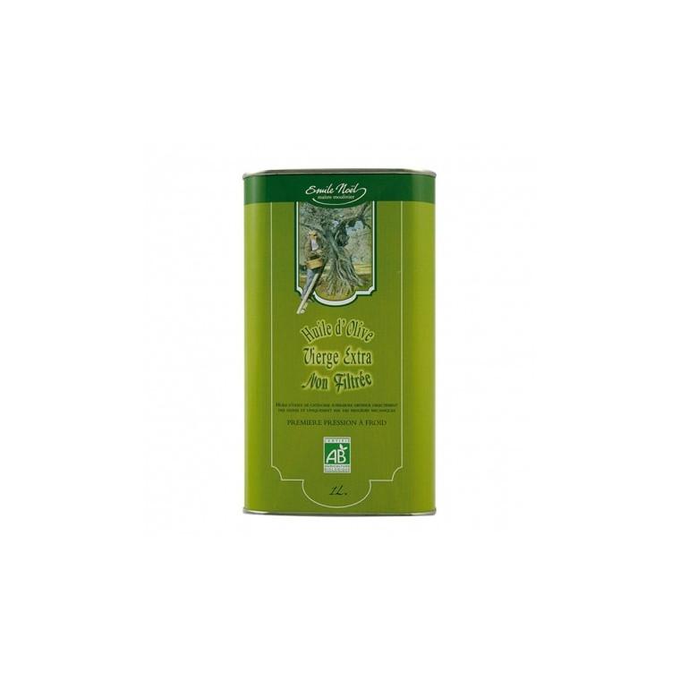 Huile d'olive vierge non-filtrée Bio - 1 L 274932