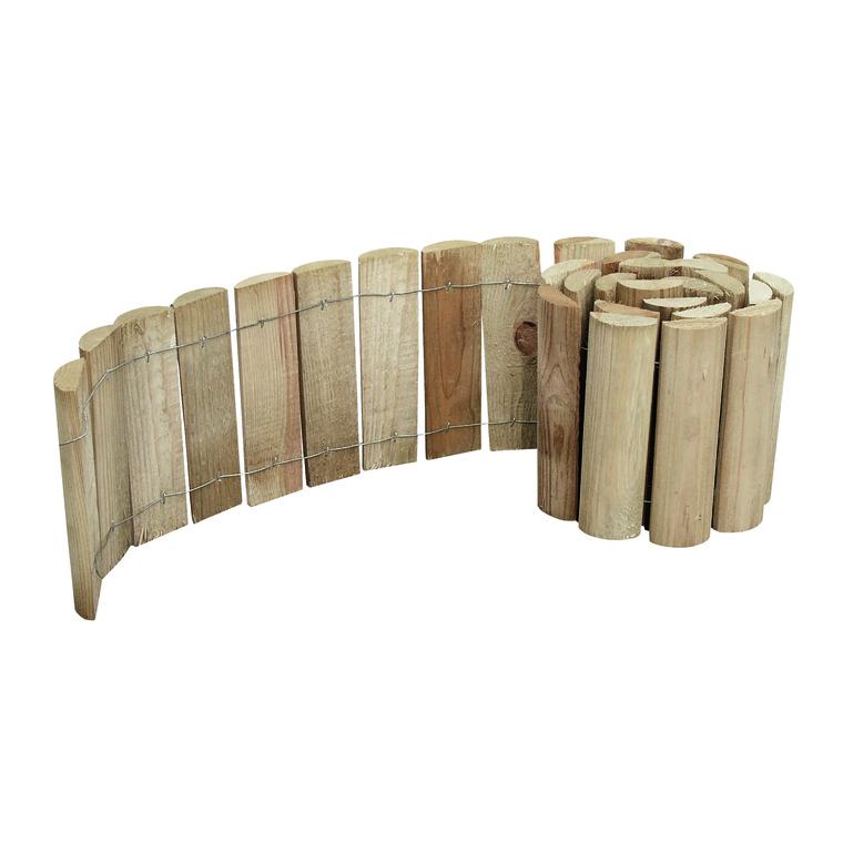 Bordure Rouleau pin 5 cm x 20 cm x 150 cm 276305