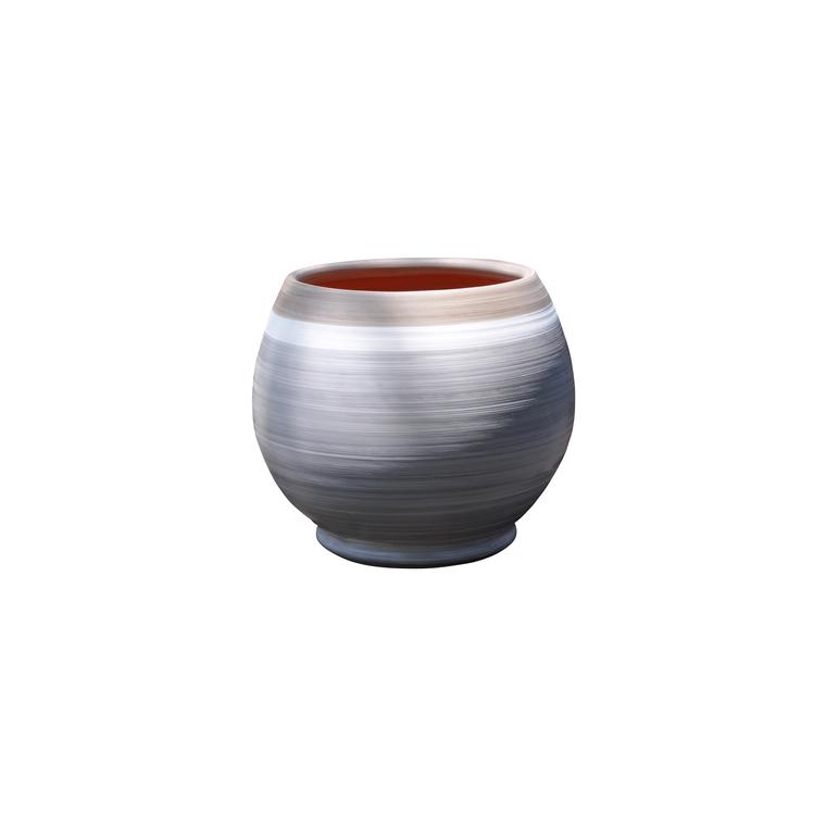 Pot Bahia esprit délicatesse en terre cuite émaillée H 38 x Ø 35 cm 276810