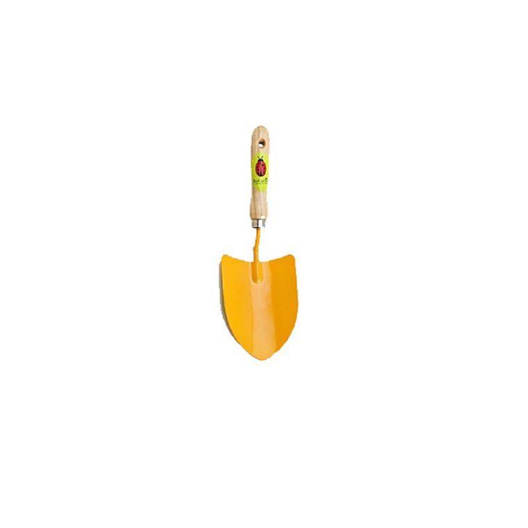 Transplantoir métal petit modèle pour enfant jaune 277025