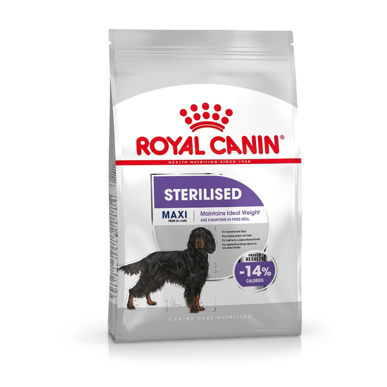 Croquettes pour chien Maxi Sterilised Royal Canin - 3 kg 277227