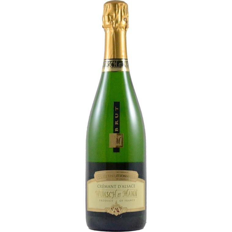 Crémant d'Alsace brut traditionnel bio 75 cl 278361