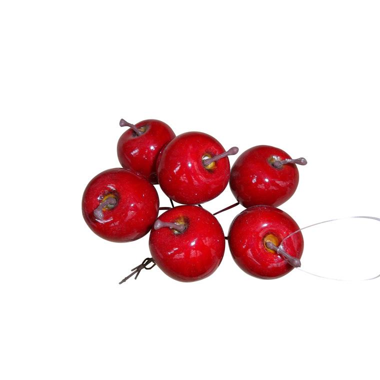 Pomme sur fil de fer x6