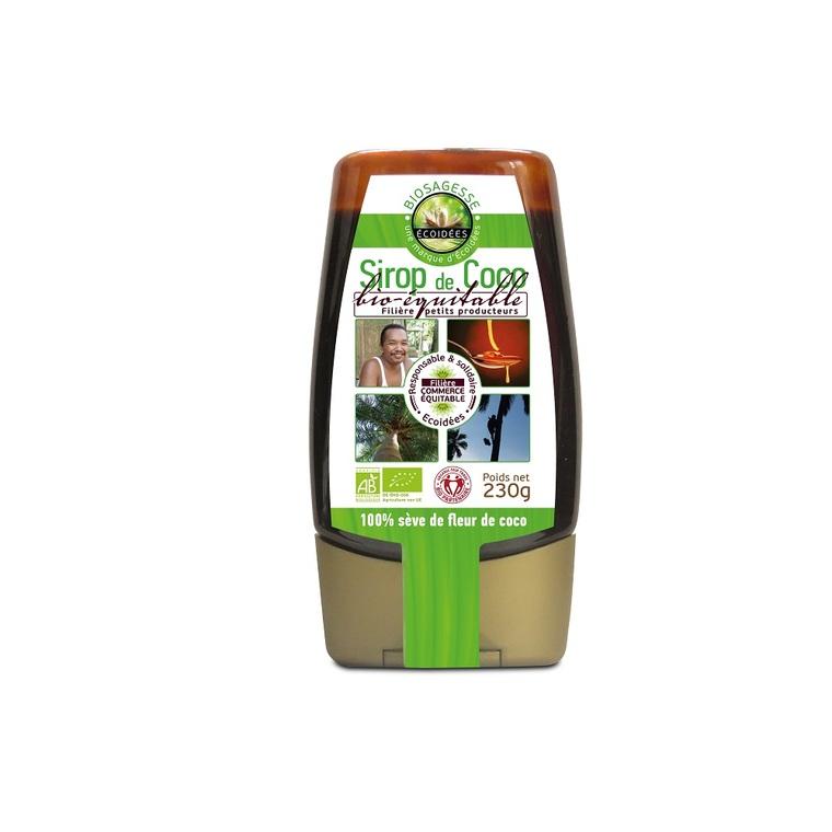 Sirop de fleur de coco bio équitable Bio Sagesse - 230 g 278423