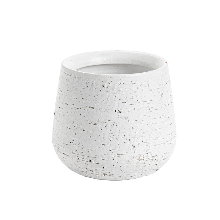 Cache-pot Terra Ø 19  x H 16 cm Terre cuite 278543