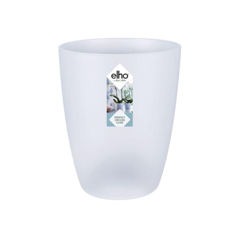 Cache-pot Brussels Orchidées haut Ø 12,5 x H 15,2 cm Polypropylène injecté 279067
