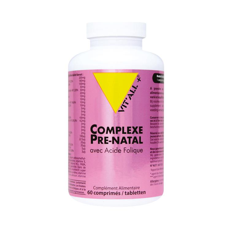 Complexe prénatal vit'all + en format de 60 comprimés 279661
