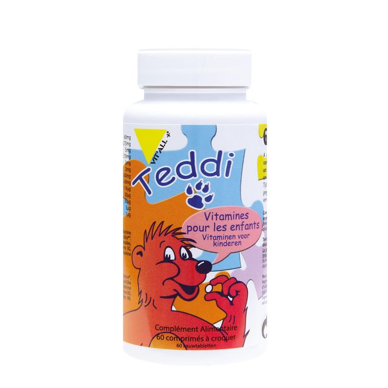 Teddi vit'all + en format de 60 comprimés 279674