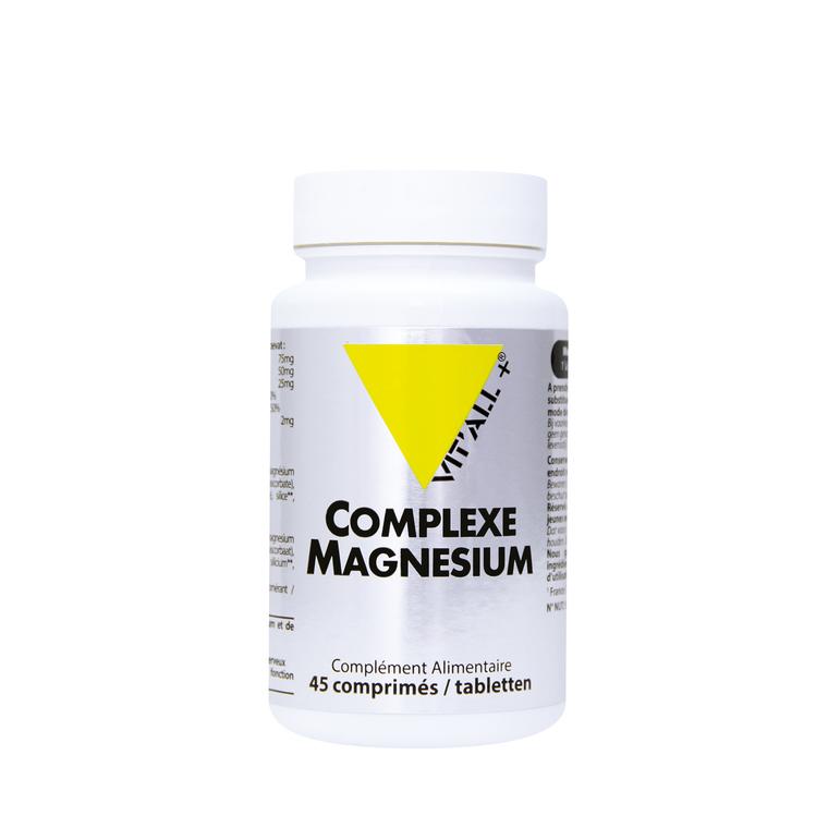 Complexe magnésium vit'all + en format de 45 comprimés 279683