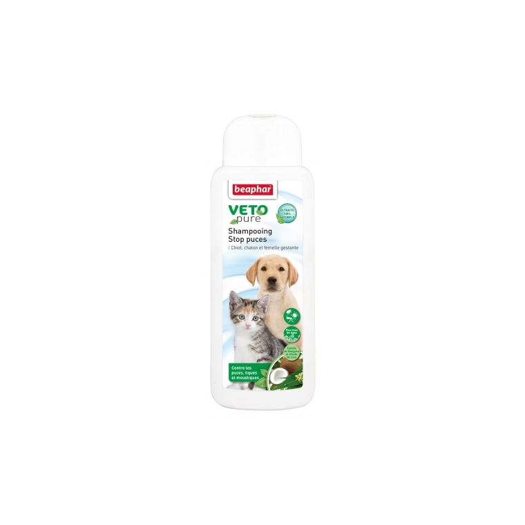 Shampoing Stop Puces chiot 250 ml 279769