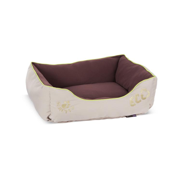Corbeille pour chien en fibre recyclée marron 60 x 50 cm 280257