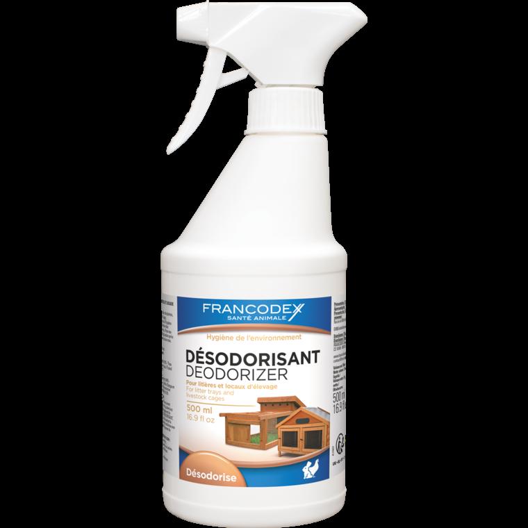 Désodorisant environnement en Pump Spray blanc 500 ml 280265