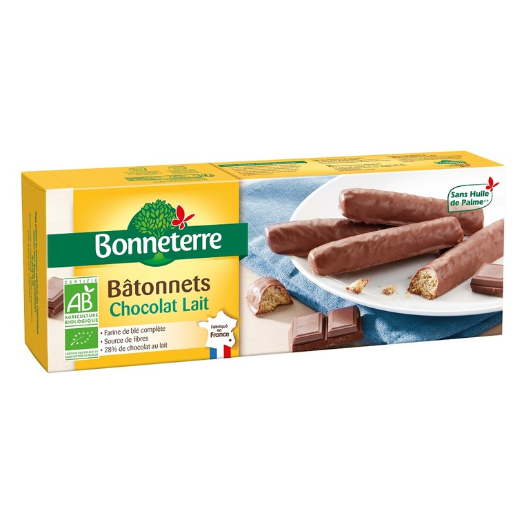 Batonnets chocolat lait 160 g 280538