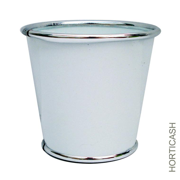 Cache-pot zinc Ø18,7x17,5 cm 281415