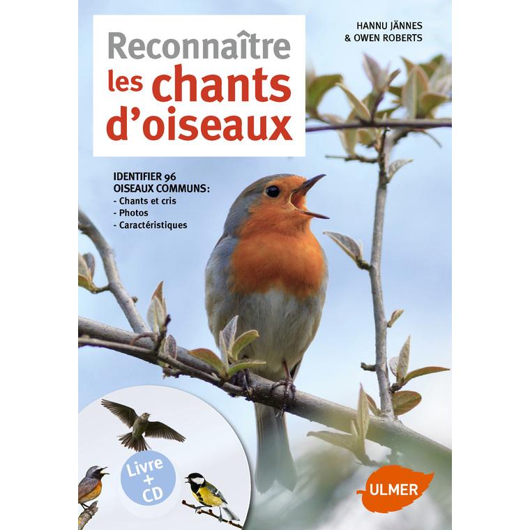 Chants d'Oiseaux (réédition) 64 pages avec CD Éditions Eugen ULMER 282548