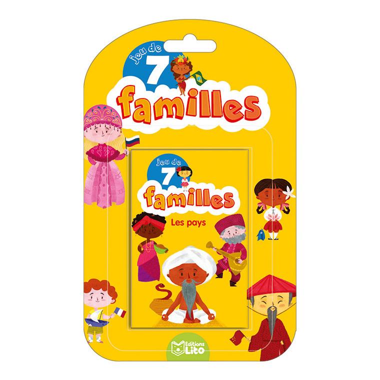Les Pays Jeux des 7 Familles 5 ans Éditions LITO 282604