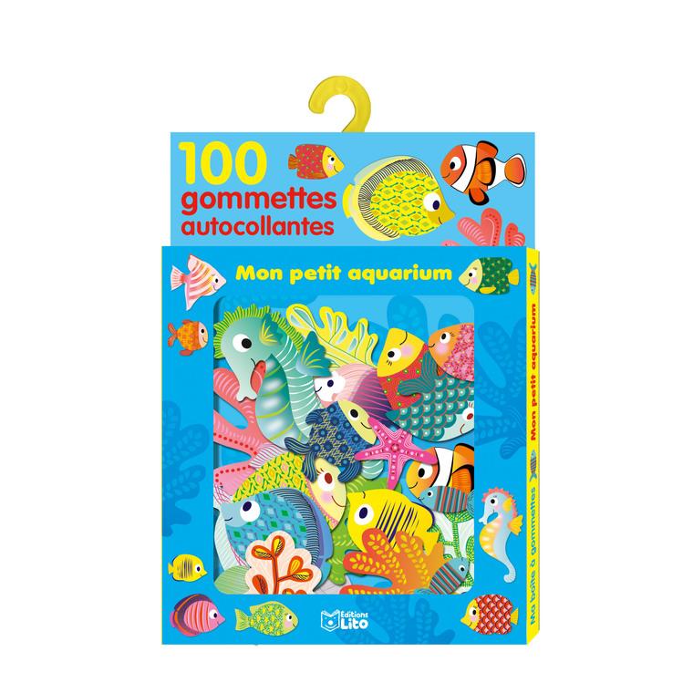 Mon Petit Aquarium Ma Boîte à Gommettes 3 ans Éditions LITO 282664