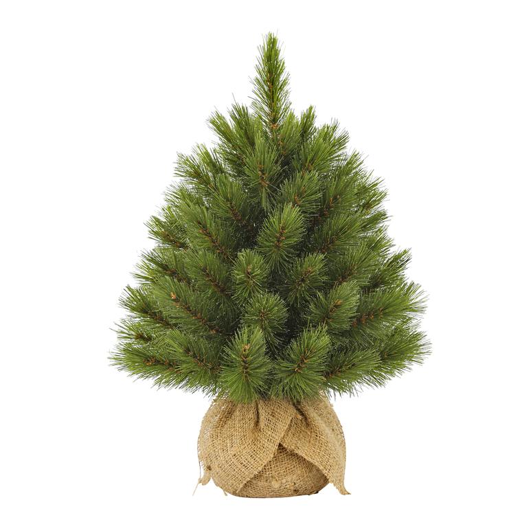 Sapin de Noël artificiel vert Forest Frosted 45 cm 283194