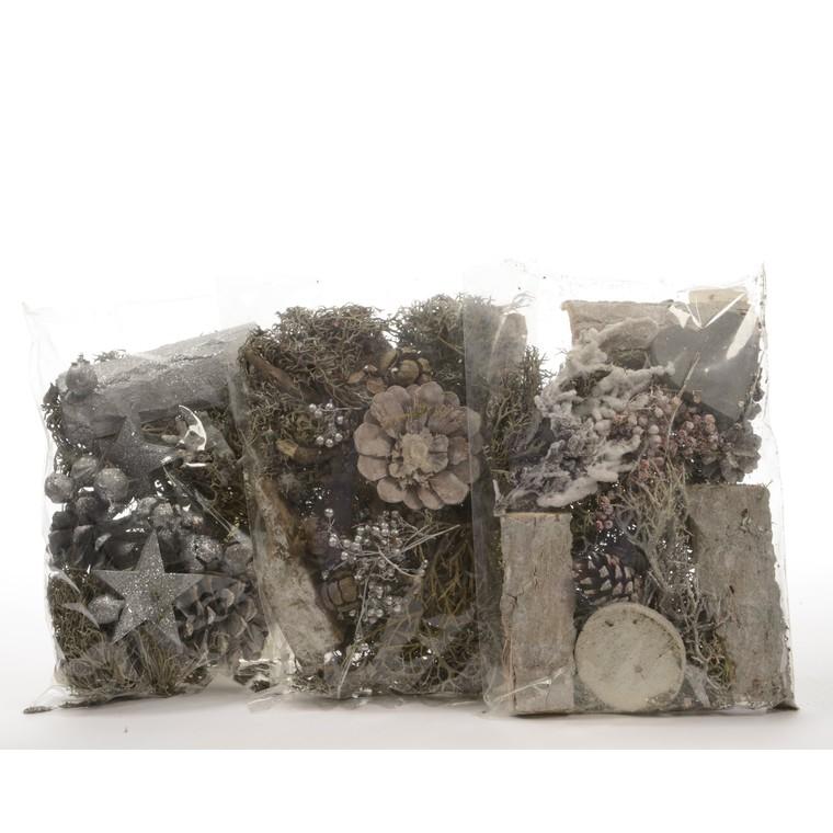 3 sachets d'éléments pour décoration personnalisée