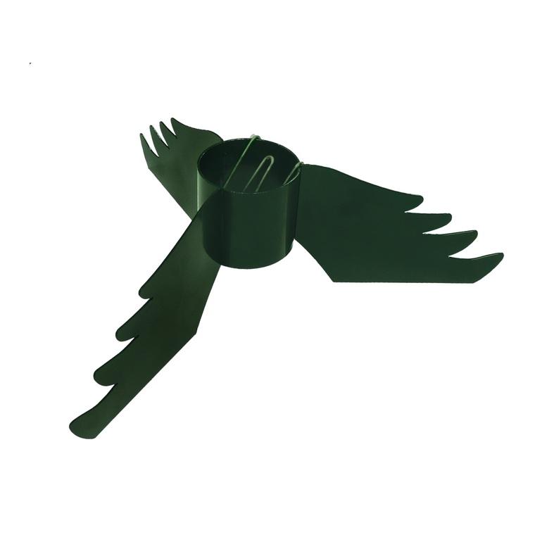 Pied de sapin vert à clips Ø tube de 9 cm 287352