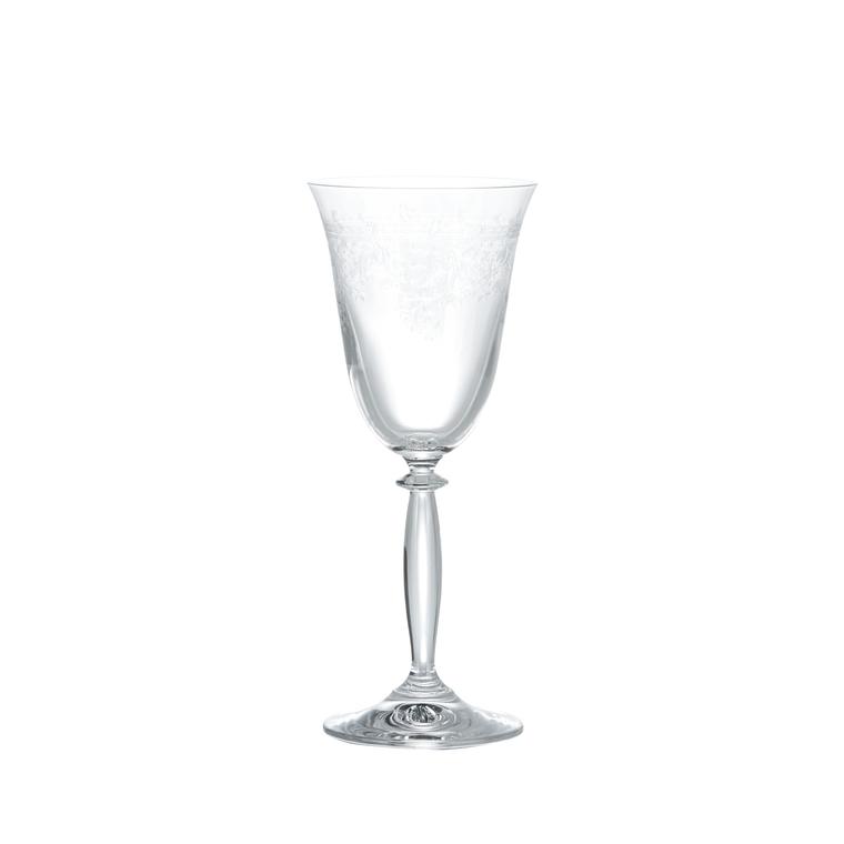 Coffret de 6 verres à vin Avalon en cristallin gravé 288145