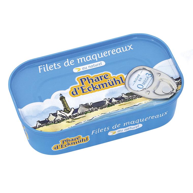 Filets de maquereaux au naturel - 113 gr 288157