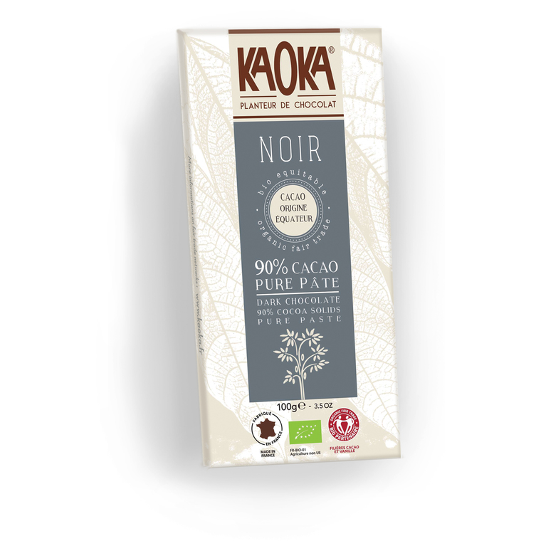 Chocolat noir 90% Equateur - 100 gr