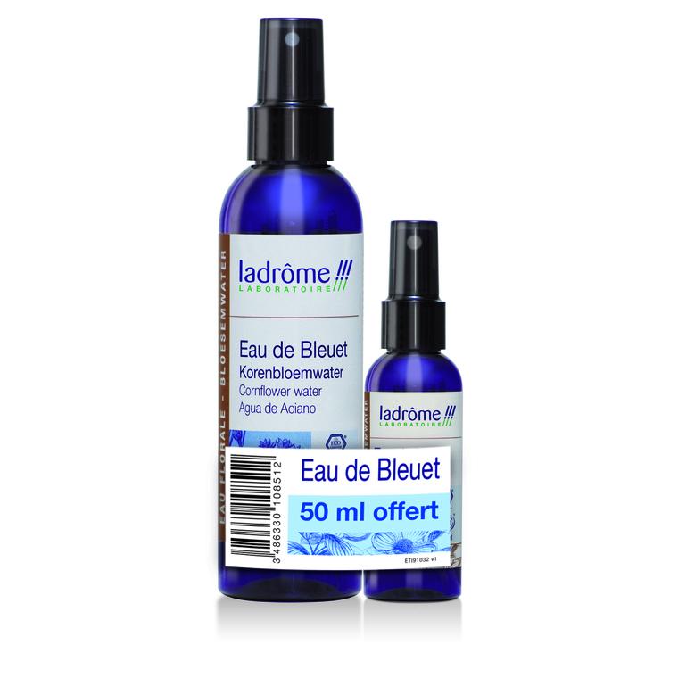 Lot eau florale de bleuet 200 ml + 50 ml LA DRÔME PROVENÇALE 288168