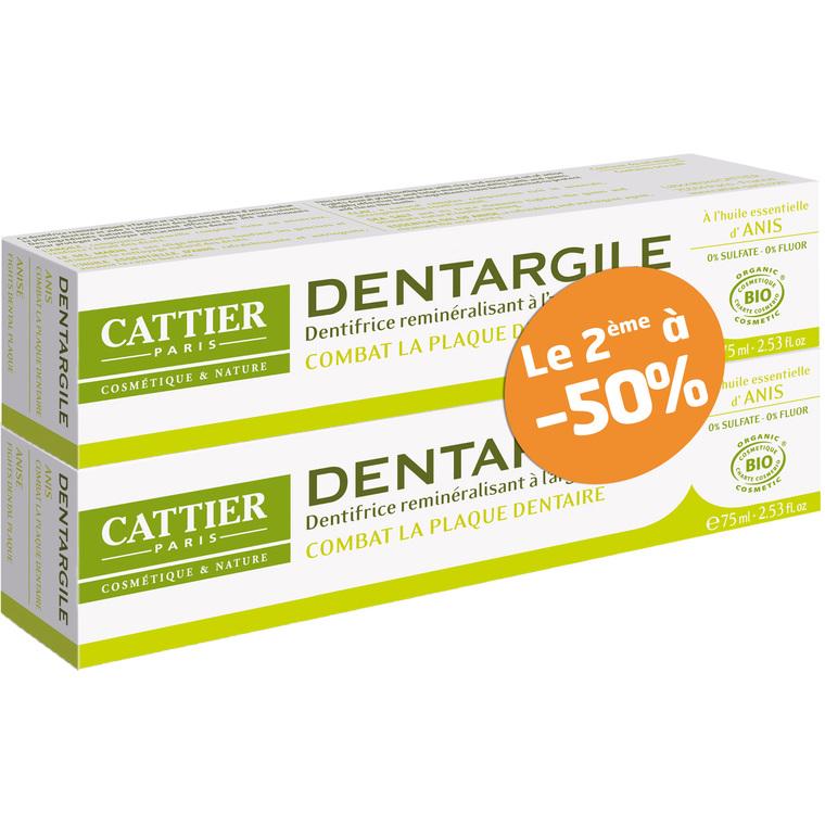 Dentifrice Dentargile anis lot de 2 x 75 ml 288278